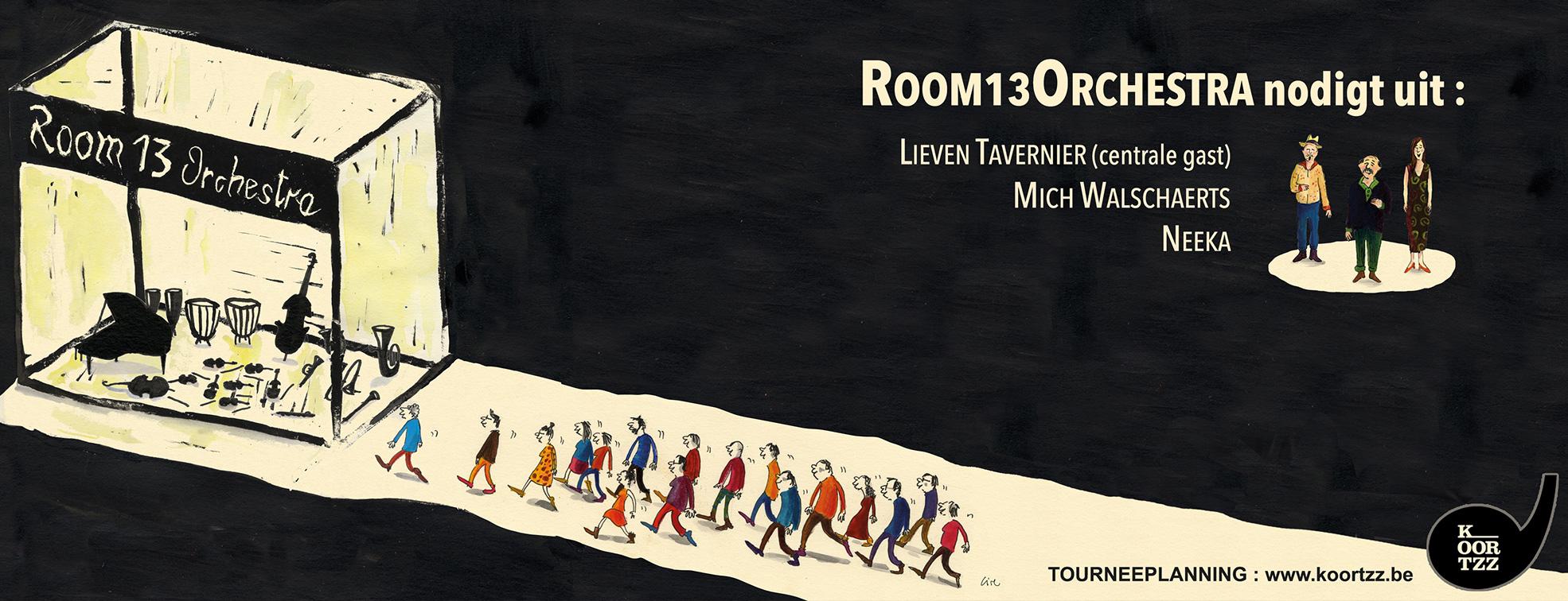 Room13orchestra optredens concerten